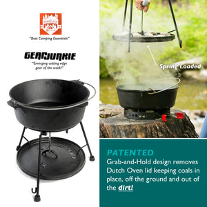 2-Piece Dutch Oven Tool Combo with Carry Bag