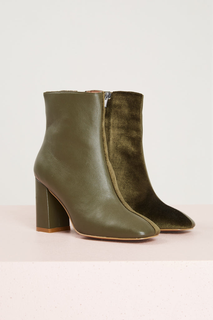 BLOCKED BOOT khaki
