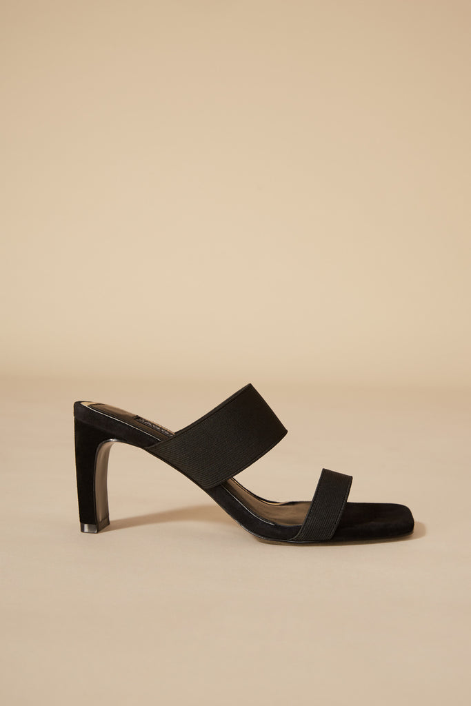 DYNAMIC ELASTIC HEEL black