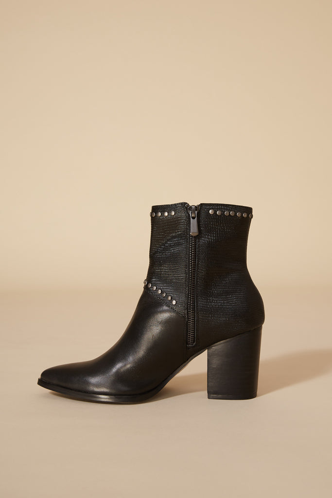 GROUNDED LIZARD BOOT black