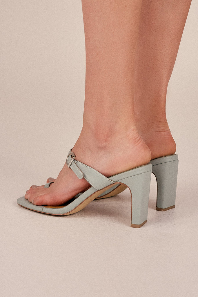 CONTEMPORARY LEATHER HEEL mint
