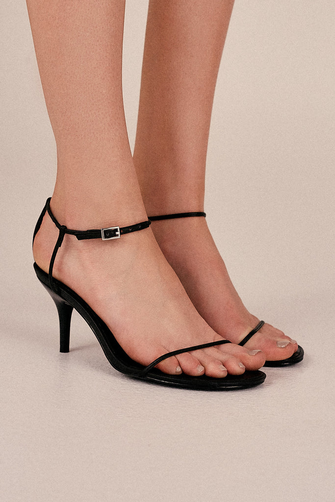 BARE SANDAL black