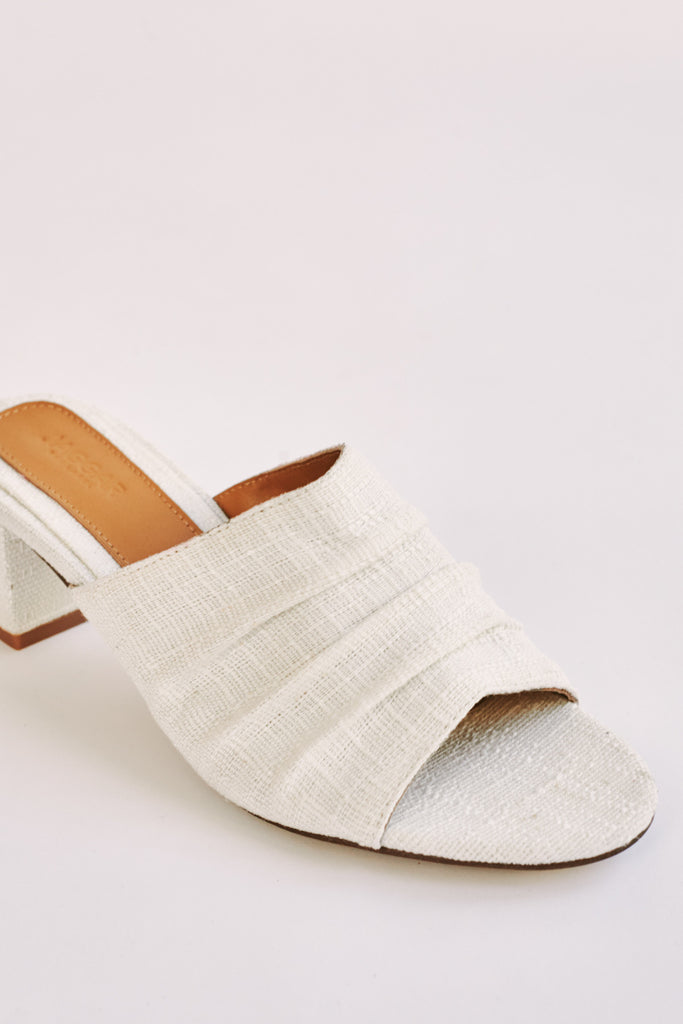RUCHED SLIDE ivory