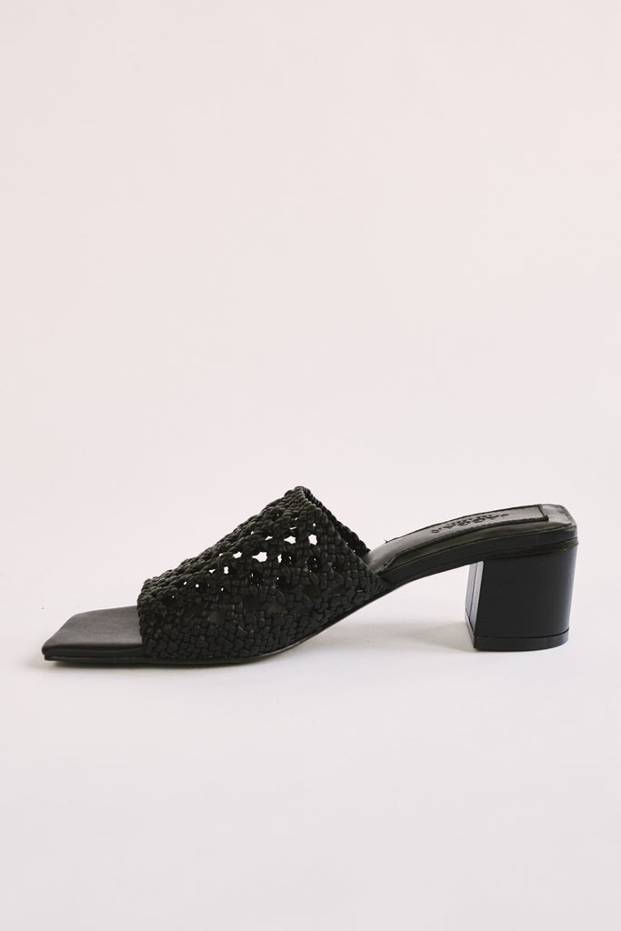 WOVE SLIDE black