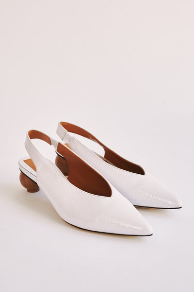 SPHERIC PATENT PUMP ivory