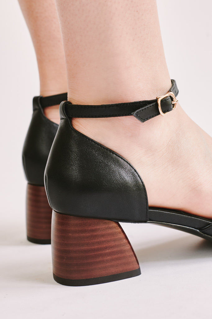 JIVE LEATHER MARY JANE black