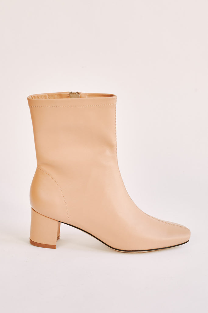 BLOCKED ANKLE BOOT amberlight