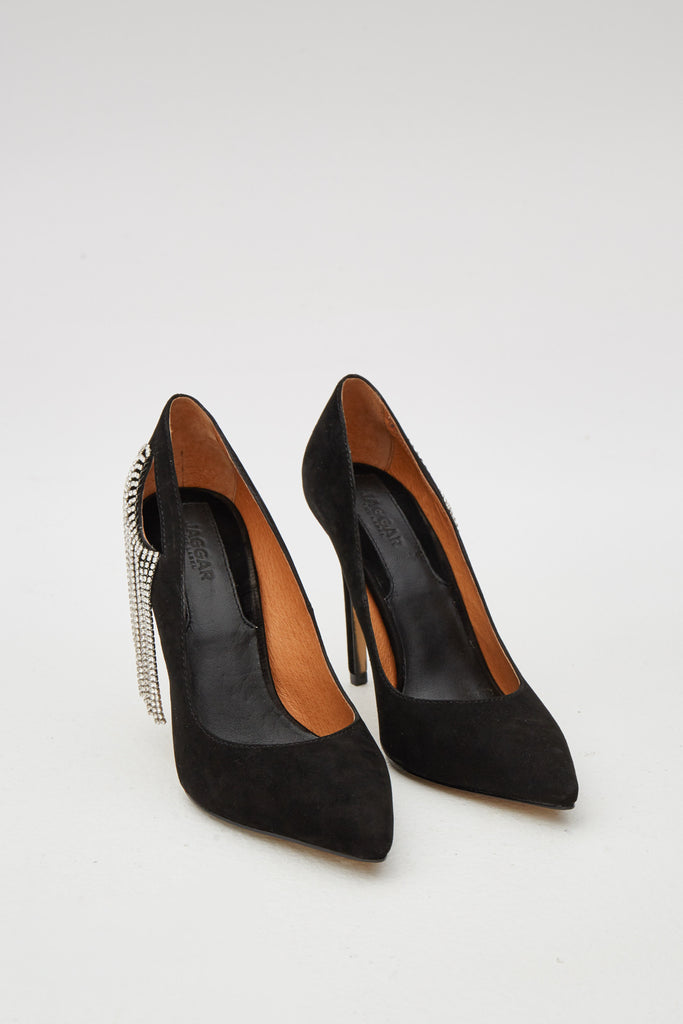 DIAMANTE PUMP black