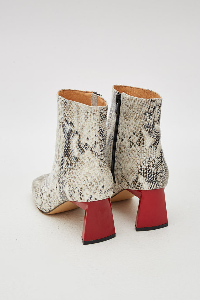 FLAIR SNAKE BOOT grey