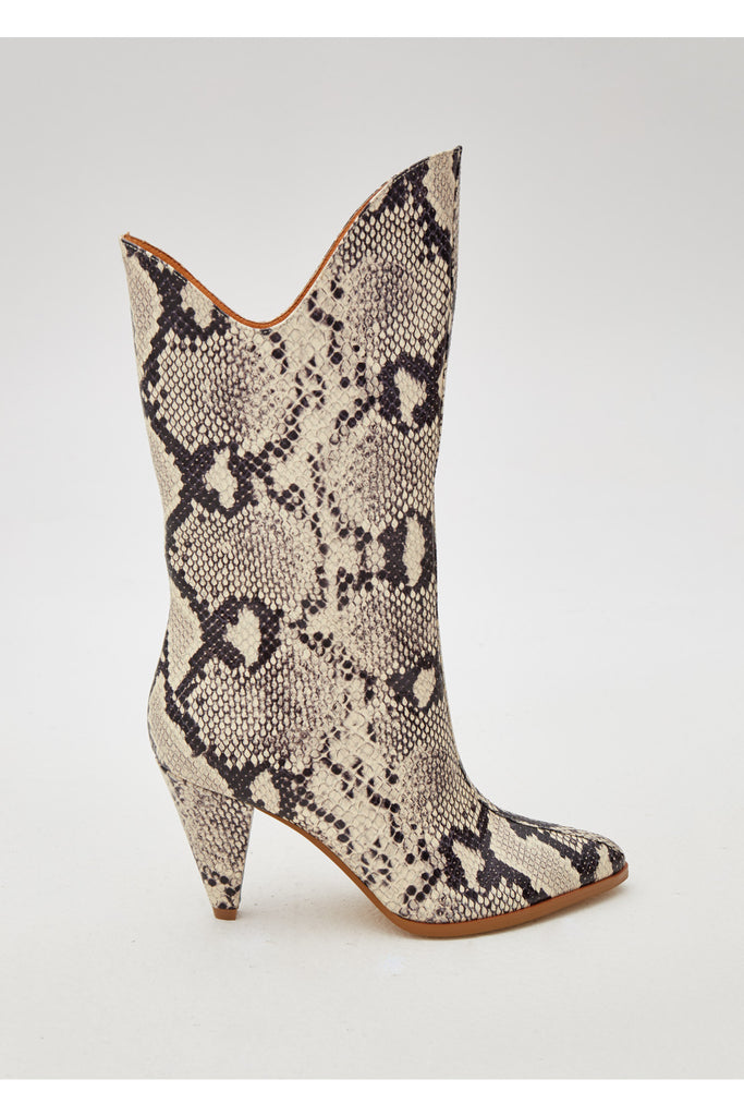 PINNACLE SNAKE BOOT grey