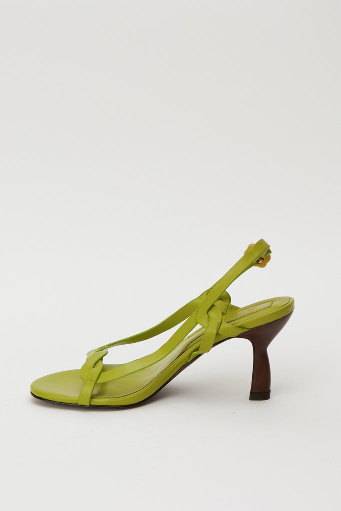 TWIST SANDAL turtle green