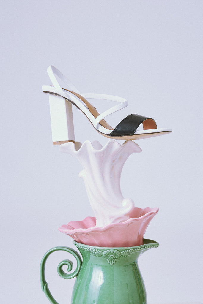 ADAPT HIGH HEEL white