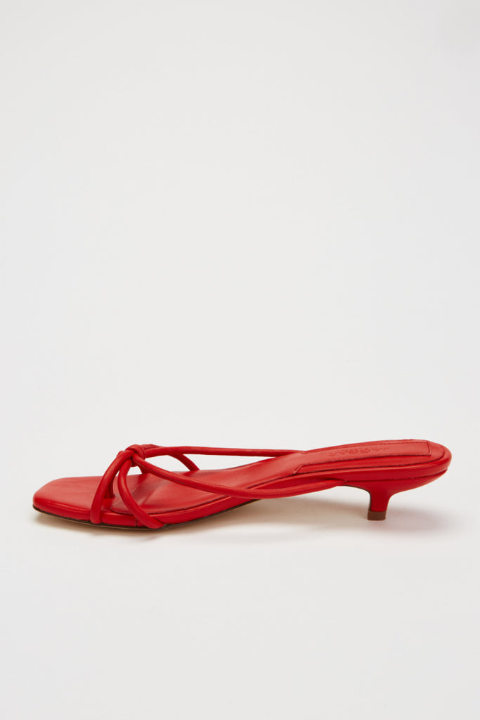 LOOP KITTEN HEEL ruby