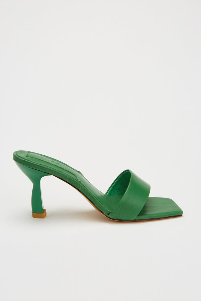 OBLIQUE HEEL green