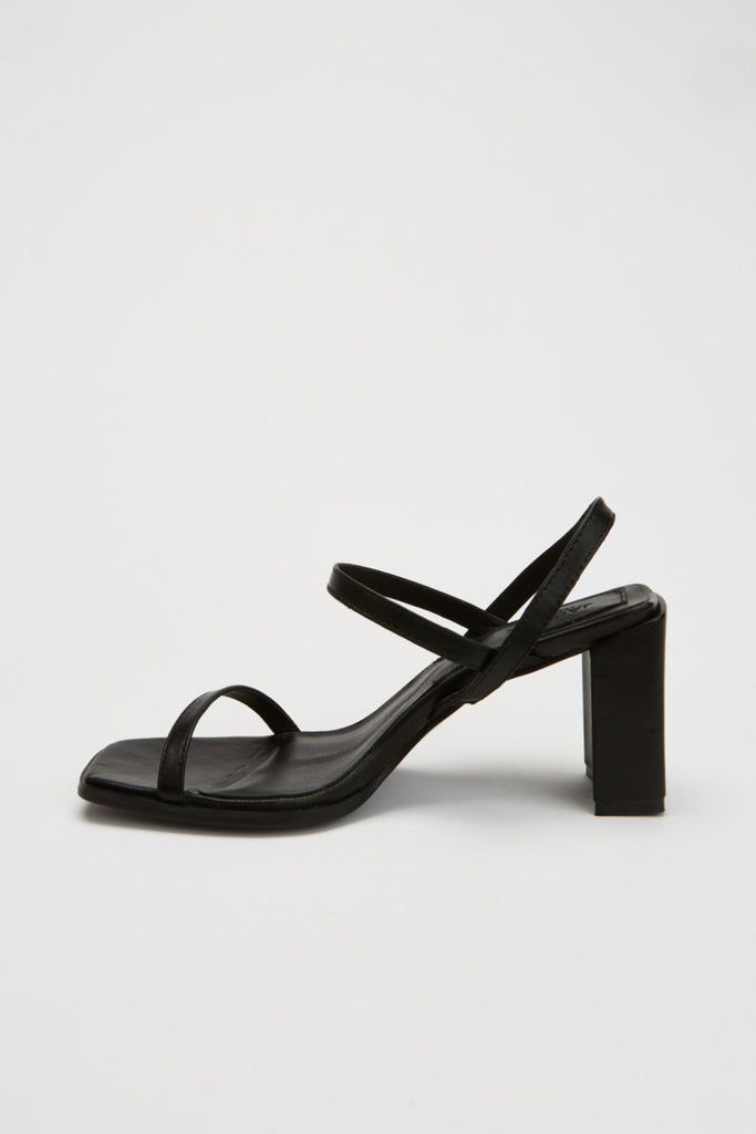 PRIME BLOCK HEEL black