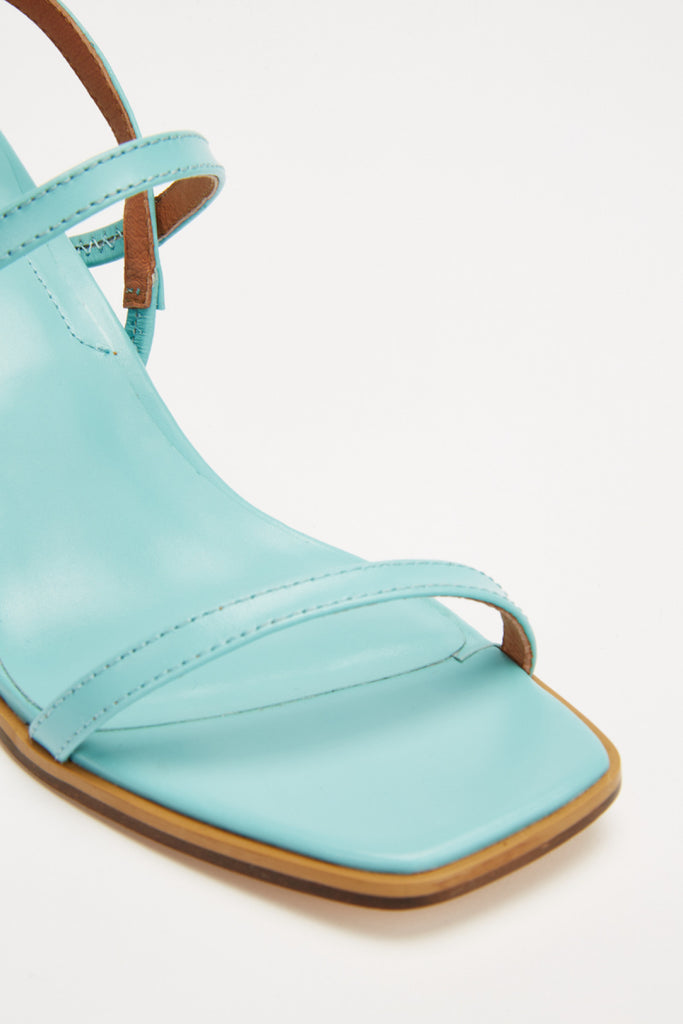 PRIME BLOCK HEEL blue