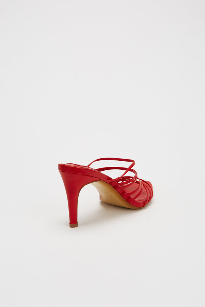 BOUND SANDAL ruby