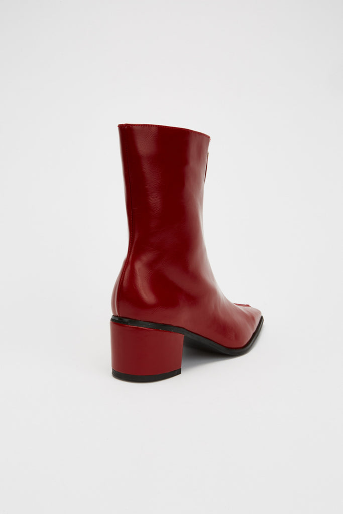 ZIPPER BOOT redwood