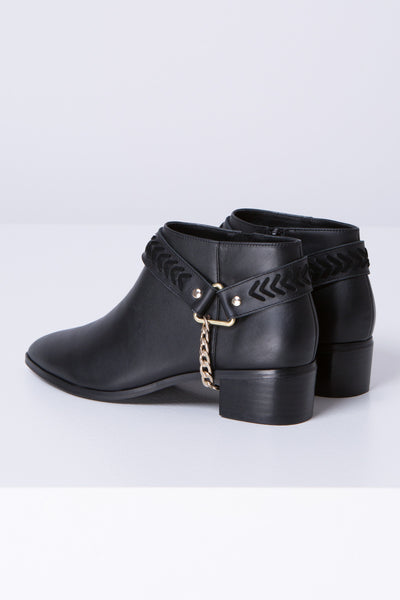 HARNESS BOOT black