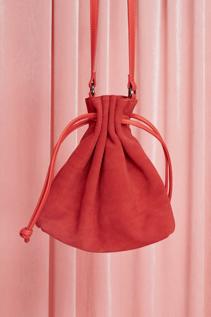DRAW BAG red