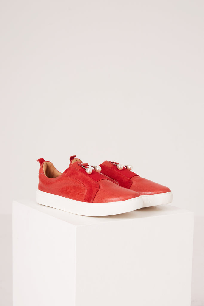 JAZZ SNEAKER red