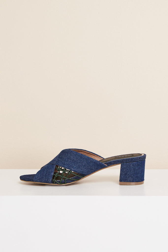 ATTAIN DENIM HEEL denim