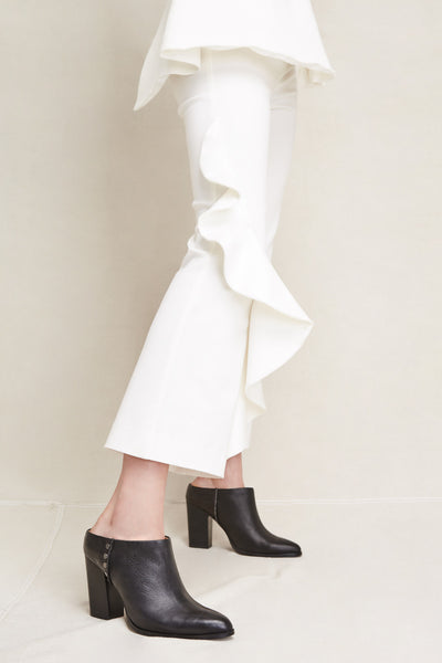 RIDGE HEEL black