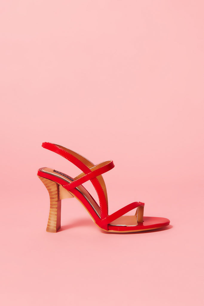 COVET SANDAL cherry