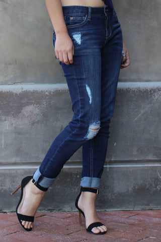 Celebrity Pink Distressed Jeans