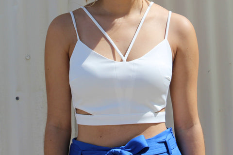 Multi Strap Midriff Top