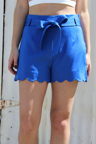 Scallop Shorts