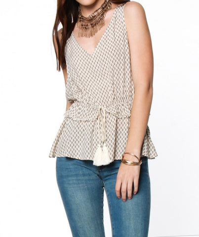 Sleeveless Babydoll Top