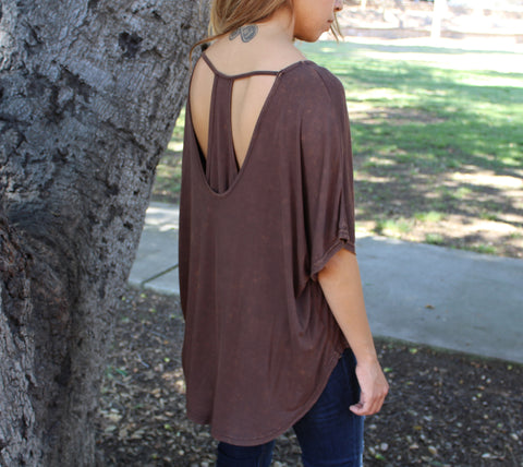 T Back Dolman Top