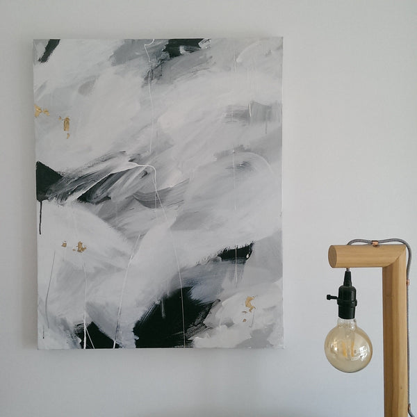 Marnie McKnight large artwork, perfect for the Scandi home