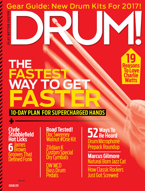 No. 251, May 2017 for Drumeo Members