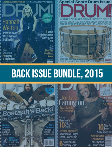 Back Issue Bundle, 2015