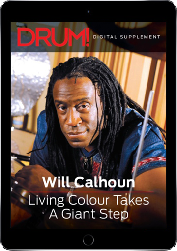 Will Calhoun - Living Colour Takes A Giant Step