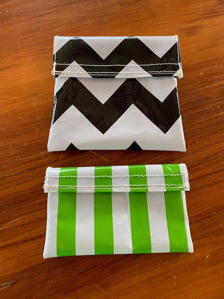 Sandwich/Snack Bags (Pack of 2) - REUSABLE