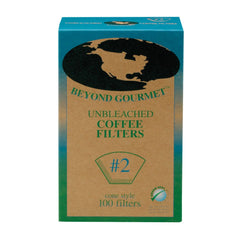 Beyond Gourmet #2 Unbleached Coffee Filter