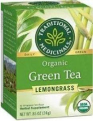 Traditional Medicinals Green Tea with Lemongrass