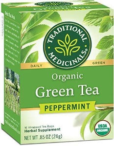 Traditional Medicinals Green Tea with Peppermint