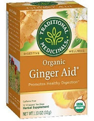 Traditional Medicinals Ginger Aid