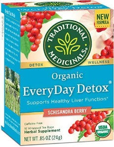 Traditional Medicinals Every Day Detox Schisandra Berry