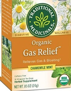 Traditional Medicinals Gas Relief Chamomile Mint