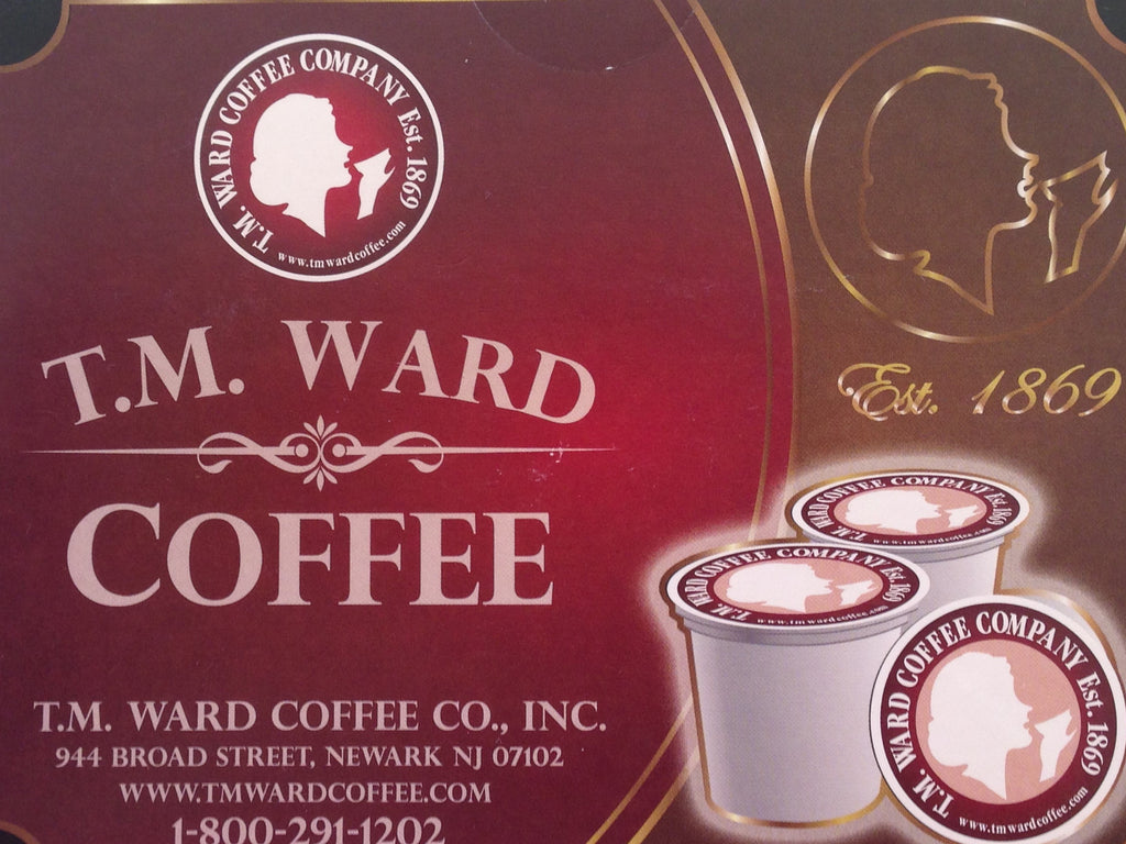 Espresso Coffee K-Cups - T.M. Ward Coffee Company