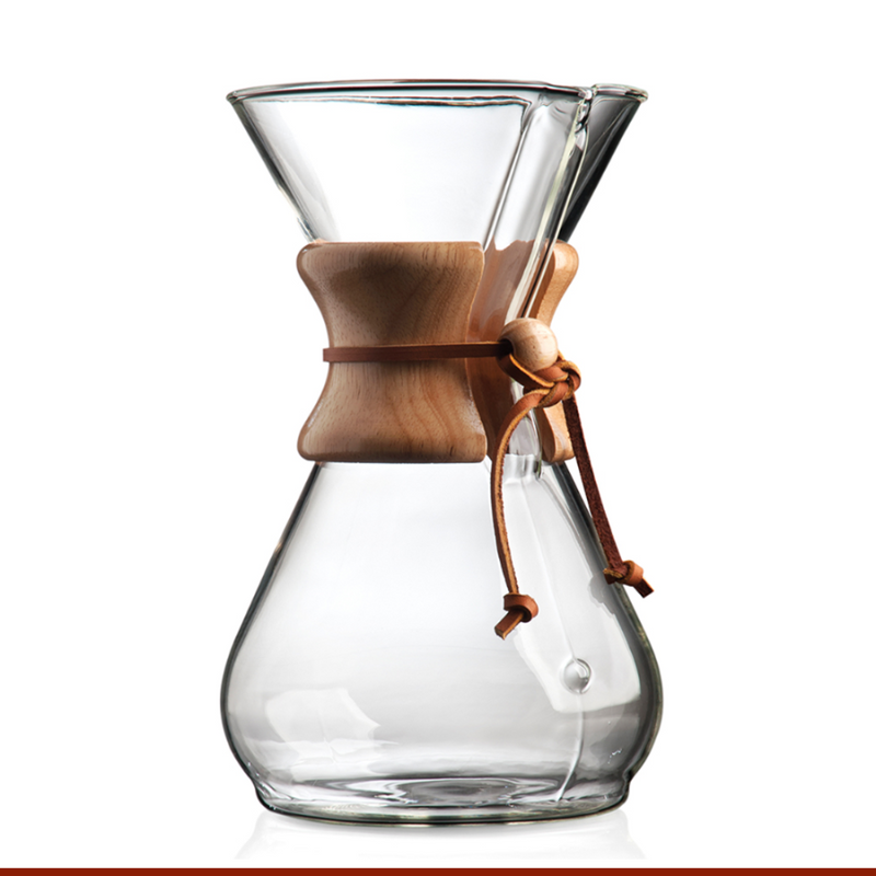 Chemex Classic Coffee Makers 1-3 , 6, 8, 10 Cup