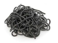 Black Licorice Laces - 1 lb (16 oz)