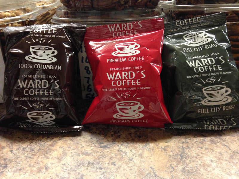 Ward's Deluxe House Blend Coffee 42 x 1.75 oz Case