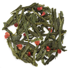 Raspberry Green Tea - Loose