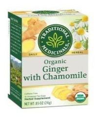 Traditional Medicinals Ginger with Chamomile Tea